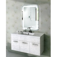 Зеркало с подсветкой в ванную комнату Эстер 70х90 см